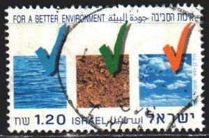 Israel. 1993. 1277. Environmental protection. USED.