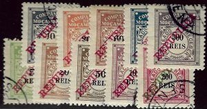 Mozambique SCV J11-J20 Used VF..Worth a Close Look!