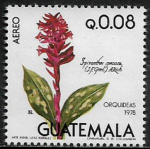 Guatemala #C660 MNH Stamp - Orchids - Flowers