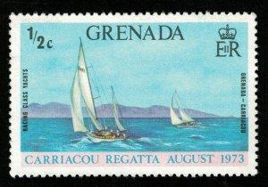 1973, Regatta, Grenada, MNH, 1 1/2c (RT-662)