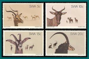 SWA MNH 443-6 Antelopes 1980