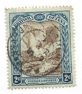 British Guiana #153  (U )  CV $4.25
