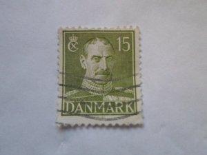 DENMARK STAMP. USED. hr # 40