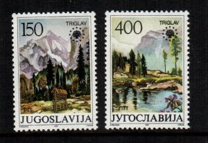Yugoslavia  1835 - 1836   MNH $ 2.50