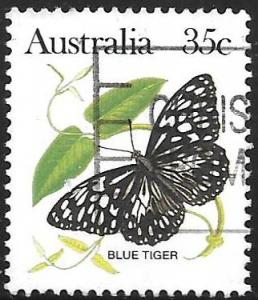 Australia 876: 35c Blue Tiger (Danaus hamata), used, VF