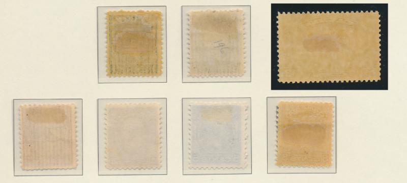 Canada Stamp Set Scott #195-201, Mint Hinged - Free U.S. Shipping, Free World...