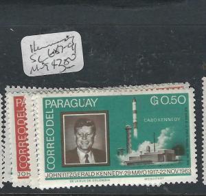 PARAGUAY  (P0206B)  KENNEDY  SC 687-91   MOG