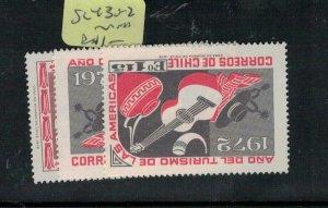 Chile SC 430-2 MNH (9exv)