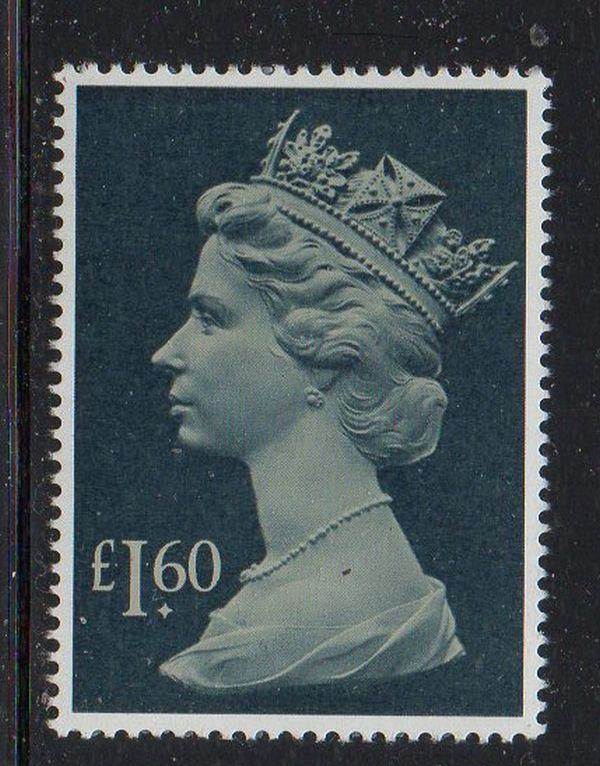 Great Britain Sc MH174 1987 £1.60  Machin Head stamp mint NH