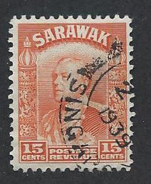 SARAWAK SC# 123 F-VF U 1934