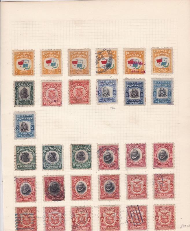 Panama Stamps on page Ref 15502