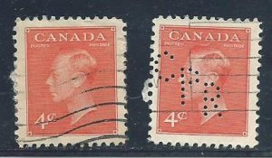 C  #306   (2)    used  1951 PD