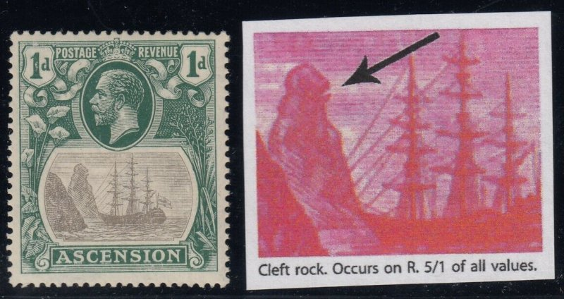 Ascension, SG 11c, MLH Cleft Rock variety