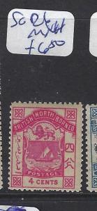 NORTH BORNEO  (PP1912B)  4C ARMS, ION  SG 26  MNH