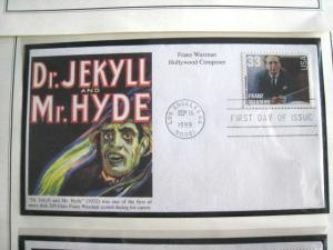 1999 HOLLYWOOD COMPOSERS FDCs - set of 6