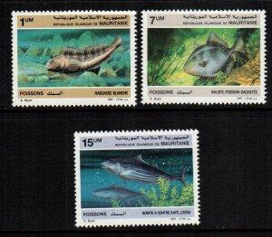 Mauritania  631 - 633  MNH $ 5.25