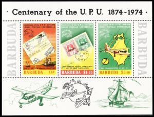 Barbuda Centenary of UPU MS SG#MS180