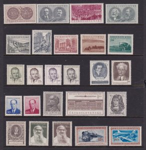 Czechoslovakia a small mainly LHM lot of earlier types