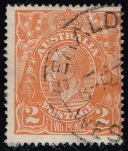 Australia #27 King George V; Used (3.25)