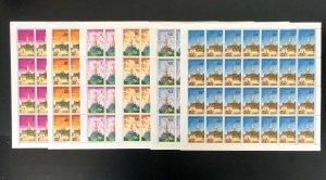 Stamps Laos Pagoda 1976