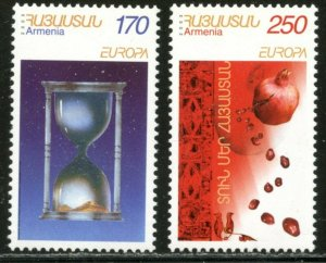 ARMENIA Sc#670-671 2003 EUROPA Issue Complete Set OG Mint NH