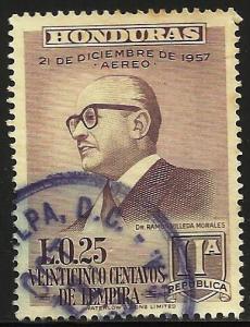Honduras Air Mail 1959 Scott# C307 Used
