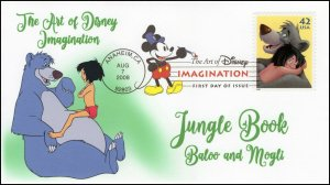 AO-4345–1, 2008, The Art of Disney Imagination, DCP, Jungle Book, Add-on, SC