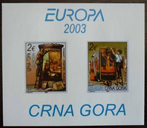 MONTENEGRO - BLOCK 2003 - MNH - PRIVATE ISSUE! crna gora yugoslavia J5