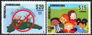 Dominican Republic. 2014. 2349-50. Anti-discrimination, children. MVLH.