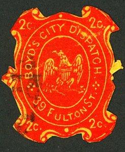 U.S. #20LU18 USED FULTON ST.