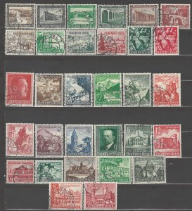 COLLECTION LOT OF # 851 GERMANY 31 SEMI POSTAL STAMPS 1936+ CV + $38