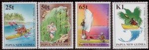 Palau New Guinea 1998  SC# 948-51 MNH L189