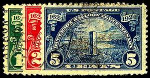 U.S. 1923-37 ISSUES 614-16  Used (ID # 43924)