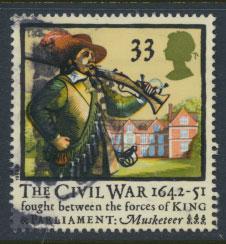 Great Britain SG 1622   Used  - Civel War