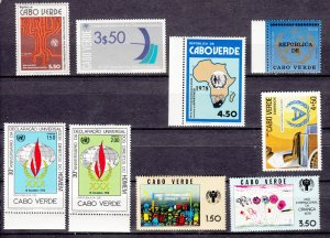J27831, cape verde mnh lot