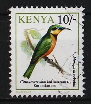 Kenya 1993/1999 Birds 10sh (1/14) USED