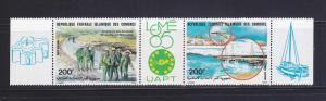 Comoro Islands C146a Set MNH PHILEXAFRICA '85
