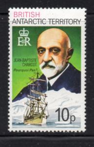British Antarctic Territory Sc 55 1979 10 p Charcot stamp mint NH
