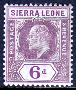 Sierra Leone - Scott #98 - MLH - SCV $10.00