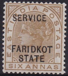 FARIDKOT 1887 QV SERVICE 6A