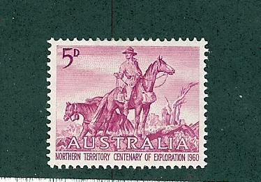 Australia, 336, Exploring Northern Territory Single,**MNH**
