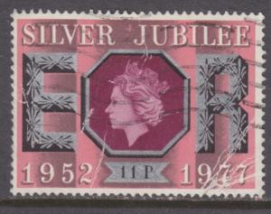 Great Britain 813 Silver Jubilee 1977