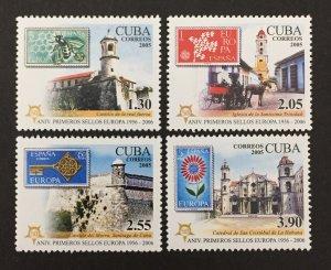 Cuba 2005 #4540-3, Europa 50th Anniversary, MNH.