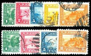 U.S. 1904-13 COMM. 397-404  Used (ID # 84285)