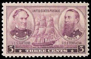 PCBstamps  US # 792 3c Navy Commemoratives, MNH, (PCB-4)