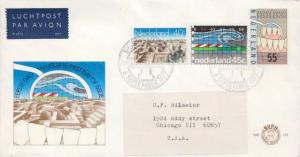 Netherlands, First Day Cover, Medical