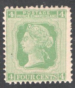 PRINCE EDWARD ISLAND #14, F/VF. Mint (NH),  CV 16.50   ...   5160005
