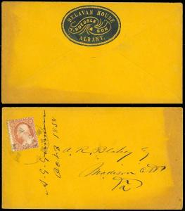 BLUE CAMEO COVER WITH US #26, VF-XF - DELAVAN HOUSE