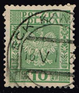 Poland #269 Coat of Arms; Used (0.25)