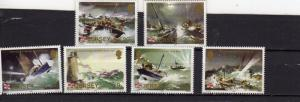 Jersey 1984 Lifeboat Station MNH